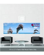 10' x 3' Fabric Wall Mural Replacement Fabric Only