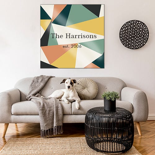 Premium Custom Tapestry with Frame